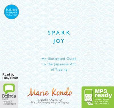 Spark Joy: A Guide to the Japanese Art of Tidying by Marie Kondo Free Shipping!