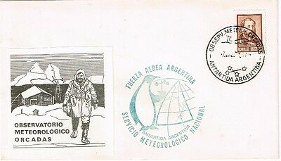1971 Argentina - Antarctica Meteorological Observers cover