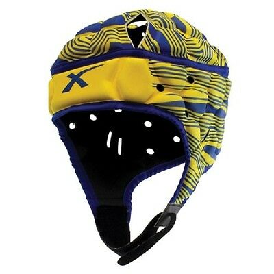 XBlades Wild Thing Head Gear (Blue/Yellow) + Free Delivery Australia Wide