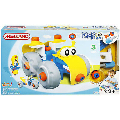 Meccano Kids Tractor - Kids Toys Fun Building Learning (M317050)