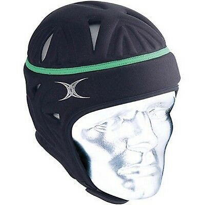 Gilbert VX5 Head Gear (Black/Green) + Free Delivery Australia Wide