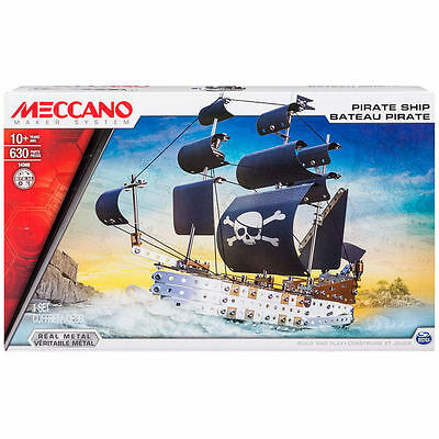 Meccano Elite Pirate Ship - Kids Toys Fun Building Learning (M6026721)