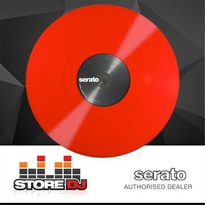 Serato Performance Vinyl: PAIR Red Coloured