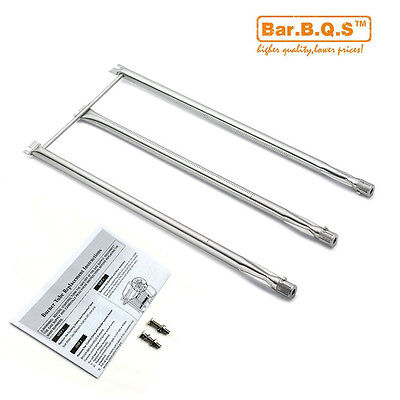 7506 Stainless Steel Burners Tube Set replace for Weber Gas Grills Platinum 3609
