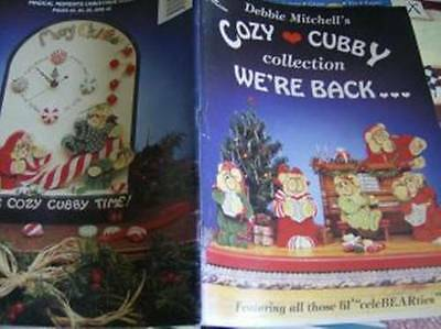 Cozy Cubby Collection We're Back Painting Book Teddy Bear Ornaments, Advent Cale