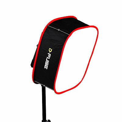 """D-FUSE Instant Pop Up Collapsible Softbox Diffuser L 12"""" for 1x1 LED light panel"""