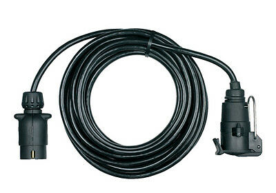 Ring Towbar Towing Trailer 12N 7 Pin Trailer Board Extension Lead 6m RCT806
