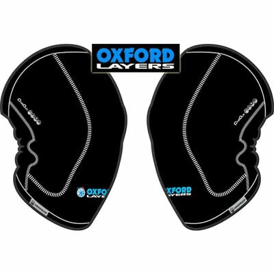 Oxford Chillout Windproof Motorcycle Rider Knee Warmers Thermal Motorbike Base