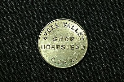 Vintage Parking Token, Homestead, Pennsylvania
