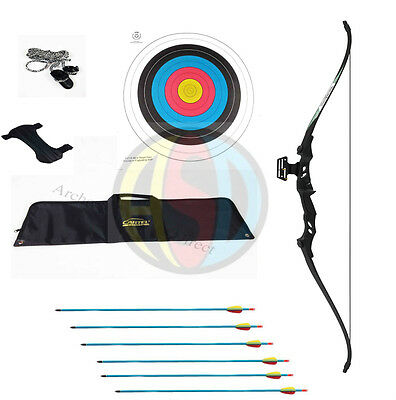 ASD Electrocution Take Down Recurve Bow Blk With Black Limbs 40 Lbs ** Package *