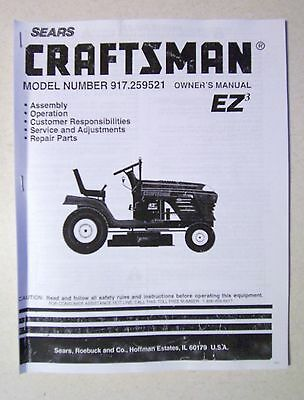 sears 15 5 hp craftsman 42 lawn tractor manual. Black Bedroom Furniture Sets. Home Design Ideas
