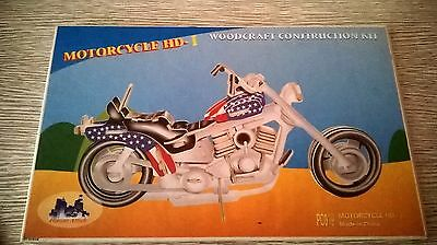 puzzle 3D motorcycle harley-davidson I couleur