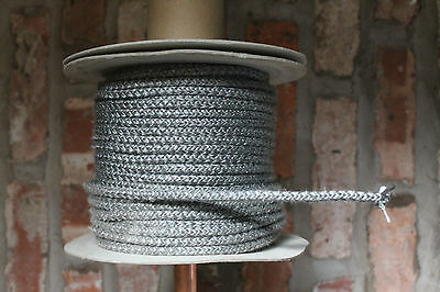 Heat resistant Rope Seal Suitable for Aga Rayburn Esse Everhot Stove Fires 12mm