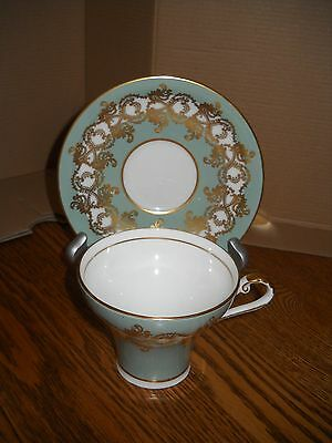VINTAGE AYNSLEY teacup and saucer FINE ENGLISH BONE CHINA 1775