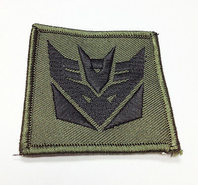 "Military Morale Patch Decepticon Transformers 2.25""  Hook&Loop #32934"