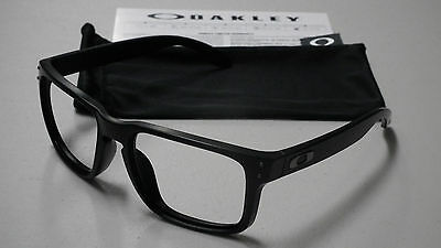oakley ansi z87 1 prescription safety glasses r5w8  Oakley Holbrook Matte Black Sunglasses Frame *authentic Original*