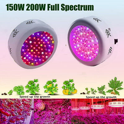 150W 200W UFO Led Grow Lights Full Spectrum Lamp For Hydroponic Plants Growth