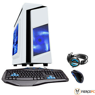 ULTRA FAST Quad Core Desktop Gaming PC 4.0GHz A10 16GB 1TB Computer - 217875