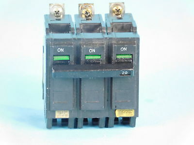 General Electric 3-Pole, 20 Amp, 240V Circuit Breaker G711