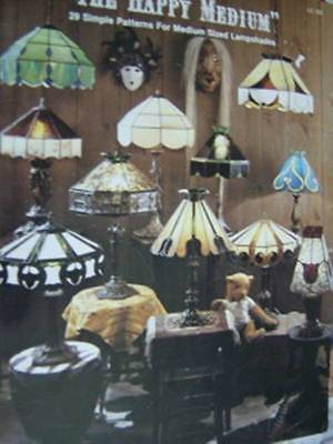 The Happy Medium Lampshade Glass Painting Craft Book- 29 Simple Patterns For Med