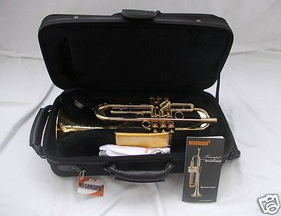 WISEMANN Super Jazz tromba professionale Monette style + case x Be Bop Big Band