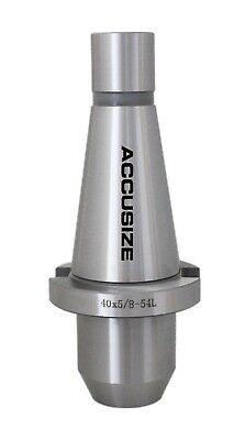 """5 Pcs ISO40 End Mill Holders with thread 5/8""""-11 , Hole Dia.: 5/8"""", #0534-0058x5"""