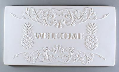 Pineapple Welcome Texture Tile Mold - Glass Fusing