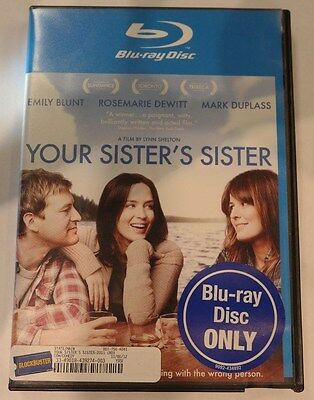 Your Sister's Sister -Emily Blunt- (Blu-Ray 2010) #I-6038