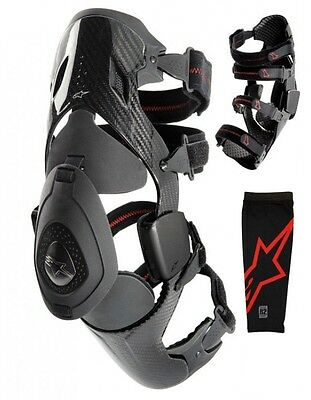 Knee brace B2 Carbon by Alpinestars size small LEFT SIDE