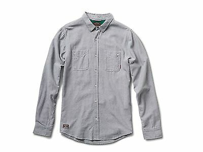 fourstar Collective Oxford LS Shirt Large