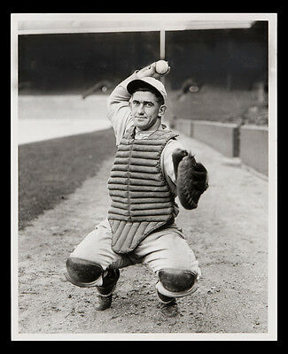 Awesome Mickey Cochrane Hall Of Fame Great In All His Gear 8X10 Tigers