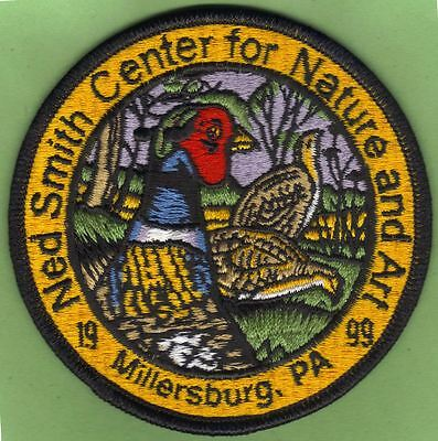 "Pa Pennsylvania Fish Game Commission Related 1999 Ned Smith Pheasant 4"" Patch"