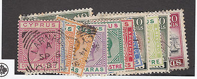CYPRUS Stamp Selection Incl SG18/19/61/118/120/122 etc as pictured CV£19