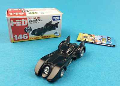 New Dream Tomica 146 Batmobile Mini Batman Carry Motors Diecast Cars Takara Tomy