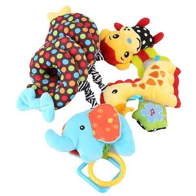 Star Baby Spiral Stroller/Pram Crib Bed Musical Toy Rattle Activity Toy HOT - SS
