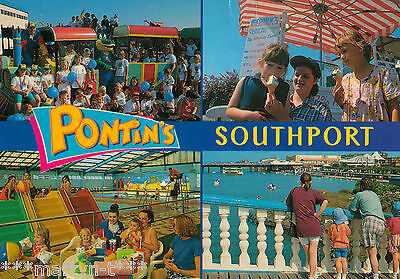 Postcard - PONTIN'S SOUTHPORT. Used.