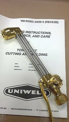 UNIWELD, VICTOR,  Oxy-Acetylene CUTTING ATTACHMENT, MODEL 77A
