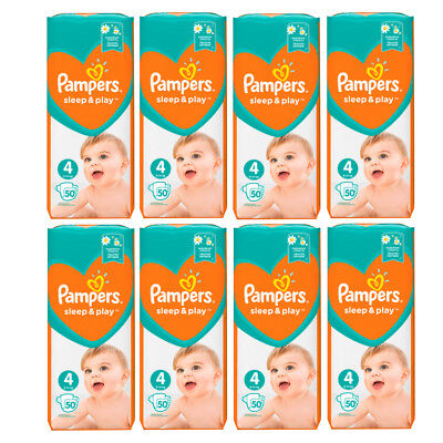 PAMPERS Simply Dry Sleep & Play Maxi Gr.4  7-14kg (50-300Stück)