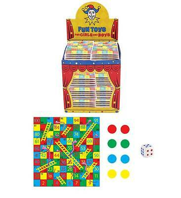 Mini Snakes and Ladders Game Party Bag Fillers