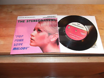 "The Stereoracers ‎""Pop Punk Love Melody"" 7"" PERDURABO   ITA 1999"