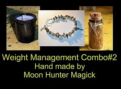 Weight Management Combo Kit #2 Weight Loss Spell Kit Ritual Pagan Wicca