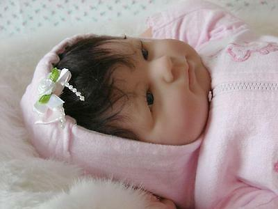 Reborn Baby Girl Infant Berenguer Baby Curls Adorable Must See Rare Htf