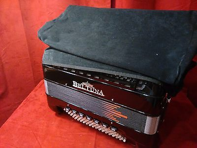 New Fuselli Accordion Cover Velour 96 Bass Fits Beltuna Made in Italy