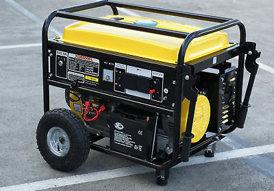 Petrol Generator 13HP, 4 Stroke Air-cooled, Electric Start, 5000W power, New
