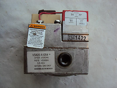 Honeywell VS820A1054 NATUAL GAS ONLY