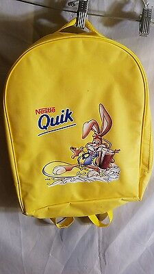 Nestle Quick Yellow Backpack