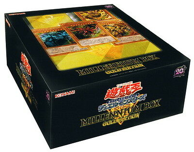 YuGiOh Card Game 20th Anniversary Limited Millenium Box Gold Edition Konami