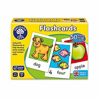 Orchard Toys Flashcards Toy Game Kids Play Gift 50 Cards With Words & Pictures