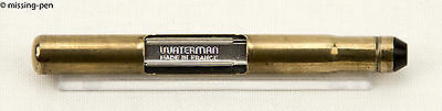 Vintage Waterman Pump / CF Metall Push Konverter