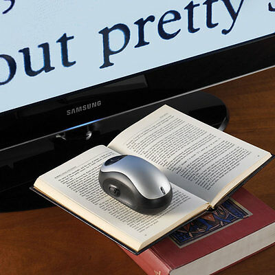 Wireless Video Magnifier - Ideal for Visually Impaired - X 70 Enlargement on TV